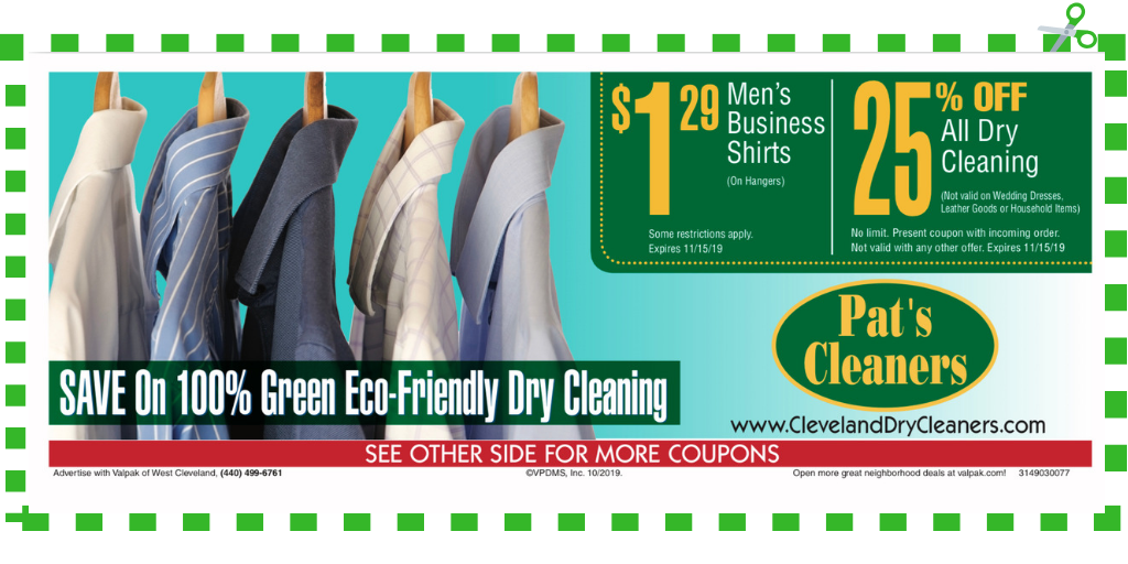 pats cleaners coupon