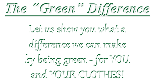 Green Dry Cleaning Service